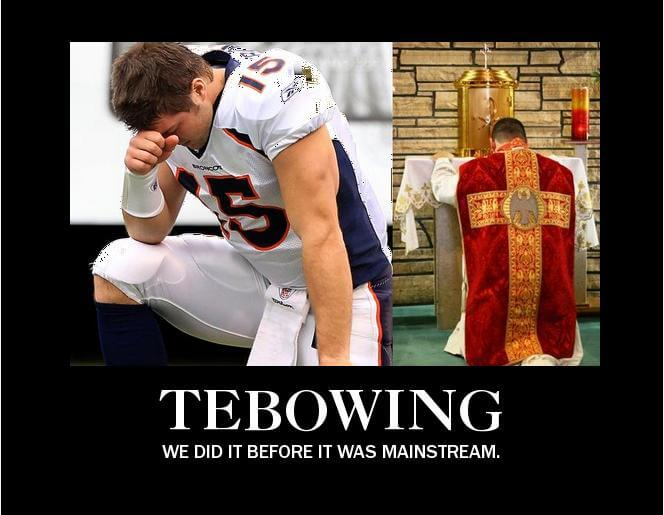 Trends: When did Tebowing become cool?